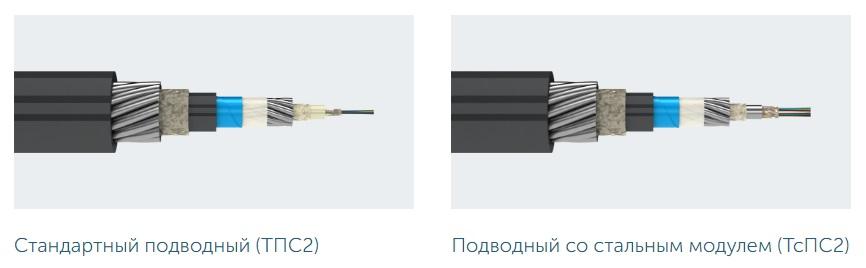 Разновидности подводных оптических кабелей связи