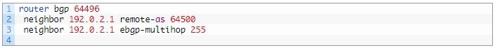 Установка допустимого количества промежуточных маршрутизаторов